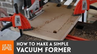getlinkyoutube.com-How to make a simple vacuum former