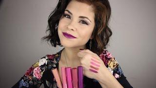 getlinkyoutube.com-Revlon Colorburst Matte Balm Lip Swatches