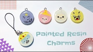 getlinkyoutube.com-Tutorial : Adventure Time Painted Resin Charms