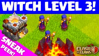 Clash of Clans UPDATE ♦ WITCH LEVEL 3! ♦ Sneak Peek! ♦ CoC ♦