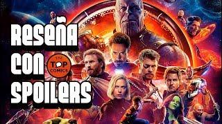 Reseña  Avengers Infinity War con spoilers