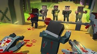 getlinkyoutube.com-CUBE Z Pixel Zombies - Jogo de sobrevivência mundo aberto