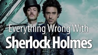 getlinkyoutube.com-Everything Wrong With Sherlock Holmes in 13 Minutes Or Less