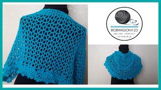 getlinkyoutube.com-Crochet Shawl Tutorial