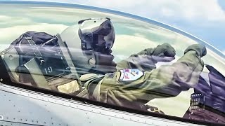 getlinkyoutube.com-Kong Takes-Off In His F-16 Fighting Falcon