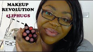 getlinkyoutube.com-Makeup Revolution Lip Hug Lipstick Review & Swatches (Urban Decay Revolution Lipstick Dupes!!)