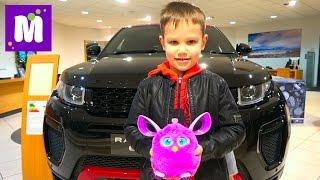 getlinkyoutube.com-ВЛОГ Дикари в автосалоне Выбрали супер крутой автомобиль Ферби довел маму до белого околения