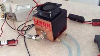 getlinkyoutube.com-6 Meter Water Cooled Amp (1 KW Out)