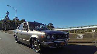 getlinkyoutube.com-INSIDE GARAGE: John's '72 Mazda RX3