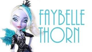 getlinkyoutube.com-Faybelle Thorne Doll Repaint [EVER AFTER HIGH]
