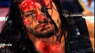 Most Brutal & Dangerous Fight in WWE History! Reigns vs Triple H! Bloddy Match! HD
