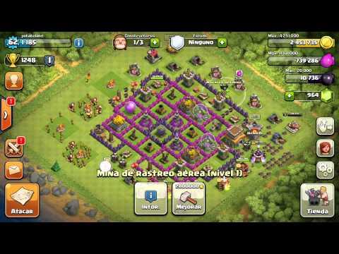 Diseno De Aldea Ayuntamiento 8 Dark Elixir Clash Of Clans
