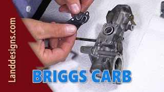 getlinkyoutube.com-BRIGGS CARB REBUILD