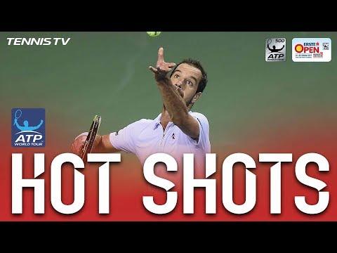 Hot Shot: Gasquet Shows Quick Hands At Net Vienna 2017