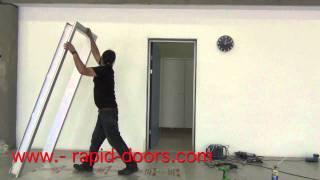 getlinkyoutube.com-COLOCACION CERCOS DE ALUMINIO RAPID DOORS