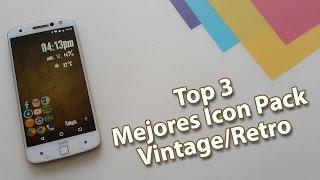 getlinkyoutube.com-Top 3 Mejores Icon Pack Vintage/Retro para tu Android