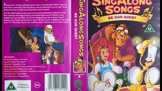 getlinkyoutube.com-Sing Along Songs - Be Our Guest [UK VHS] (1993)