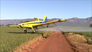 getlinkyoutube.com-Air Tractor - Extreme aerial application - How low can you go?