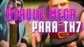 ATAQUE MEGA PARA AYUNTAMIENTO 7 | Clash of Clans en Español