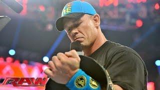 getlinkyoutube.com-Kevin Owens interrupts John Cena: Raw, June 22, 2015