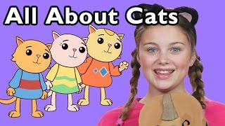 getlinkyoutube.com-Three Little Kittens and More Rhymes All About Cats | Nursery Rhymes from Mother Goose Club!