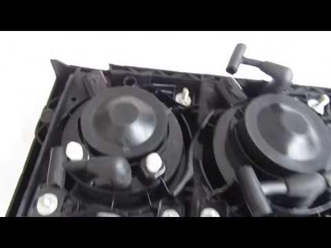 Фара ПТФ противотуманная ДАФ 105XF, 1725271, 1725270