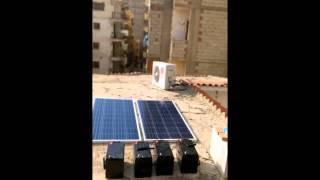 تركيب وحدة طاقة شمسية