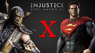 getlinkyoutube.com-Scorpion x Superman - Injustice: Gods Among Us