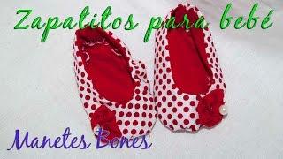 Diez zapatitos de beb� con patr�n