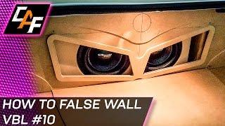 getlinkyoutube.com-Building Car Audio False Wall - Subwoofer Box Trunk Build - CarAudioFabrication
