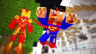Minecraft: TORNEIO DE HERÓIS 👾 - PODER DO SUPERMAN !! ‹ Ine ›