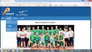 Make a Volleyball Website Using HTML5 / CSS3 (Part 1 - The HTML)