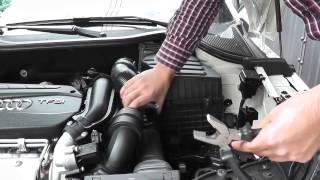 getlinkyoutube.com-Instalar filtro de alto flujo Audi A1