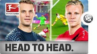 getlinkyoutube.com-Manuel Neuer vs. Bernd Leno - World Class Goalkeepers go Head-to-Head