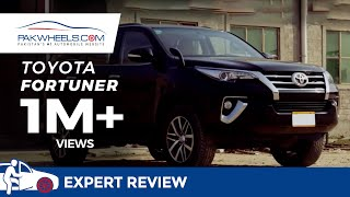 Toyota Fortuner Review by PakWheels