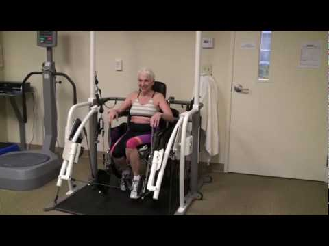 Fitness Arch: Wheelchair—Leg Curl