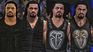 getlinkyoutube.com-WWE 2K17 - Roman Reigns Entrance Evolution! ( WWE 2K14 To WWE 2K17 )