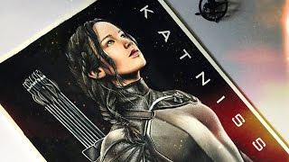 "getlinkyoutube.com-Drawing Katniss Everdeen   Mockingjay Part 1 - Featuring ""Live Or Survive"" by: TREN"