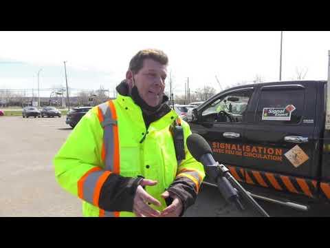 Cri du cœur des signaleurs et installateurs de chantier routier