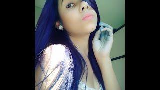 getlinkyoutube.com-Como eu pinto meu cabelo #AZUL