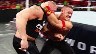 getlinkyoutube.com-Unseen footage of the brawl between John Cena and WWE World Heavyweight Champion Brock Lesnar