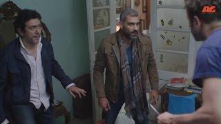 مشهد رائع صعوبة السيطرة على مدمن المخدرات فى الحلقة الرابعة  من مسلسل تحت السيطرة