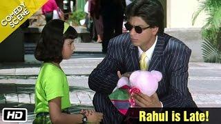 getlinkyoutube.com-Rahul is Late! - Comedy Scene - Kuch Kuch Hota Hai - Shahrukh Khan, Sana Saeed