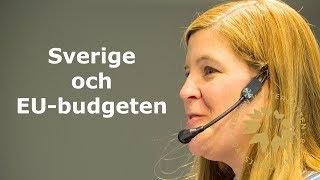 EUInMyRegion - Sveriges position i budgetförhandlingarna och perspektiv på framtiden