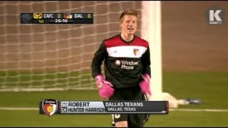 getlinkyoutube.com-Amazing Soccer Goalkeeper Game Saves & Highlights - Hunter Harrison Dallas Texans