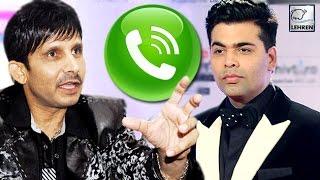 getlinkyoutube.com-Kamaal R Khan PHONE CALL Leaked | Karan Johar Exposed | LehrenTV
