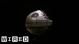 getlinkyoutube.com-Star Wars Lego Death Star Gets Destroyed with a Baseball Bat | Star Wars Lego Destruction
