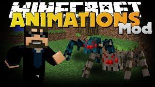 getlinkyoutube.com-Minecraft Mod - Mo' Bends Mod - New Player and Mob Animations