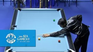 Billiards Men's 9-Ball Pool Singles Match 3 | 28th SEA Games Singapore 2015