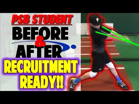 Baseball Swing Change for Recruitment | 2 Keys to Stand Out (Pro Speed Baseball)